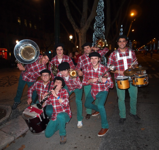 Swing Band at the Lisbon Half Marathon